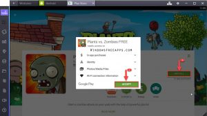 Install & Accept Plants vs Zombies Garden Warfare