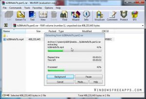 Step 3 - How to Open Rar Files On Windows