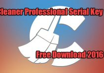 CCleaner Professional Serial Key Free Download 2016