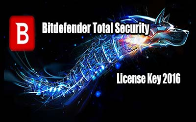 Bitdefender Total Security Key 2016 For Your PC