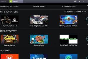 Bluestacks App Player for PC