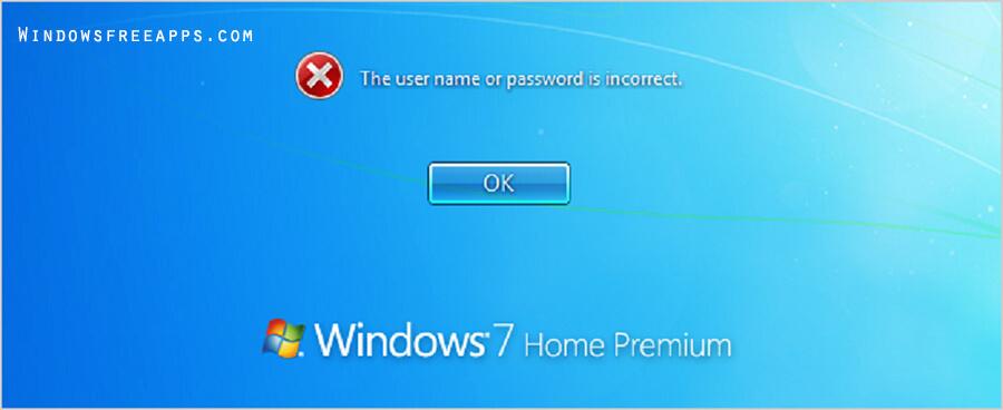 Forgot Windows 7 Password