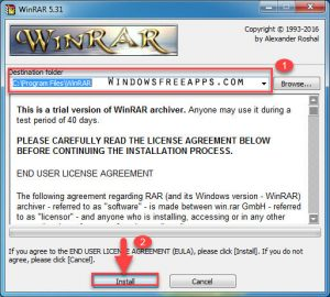Install Winrar Free Download Full Version