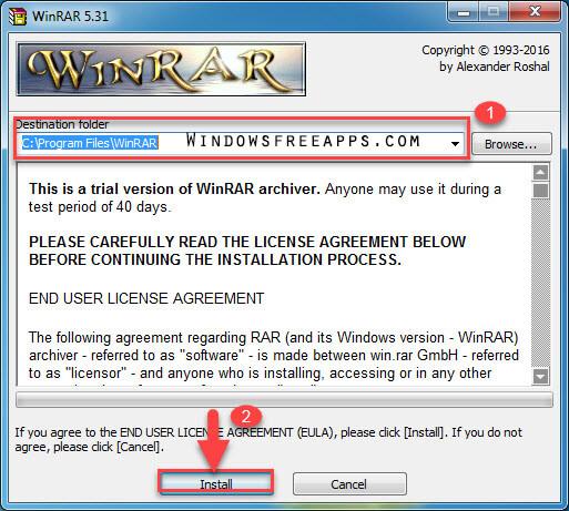free winrar no trial version
