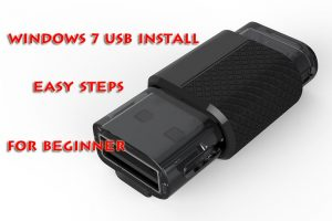 Windows 7 USB Install