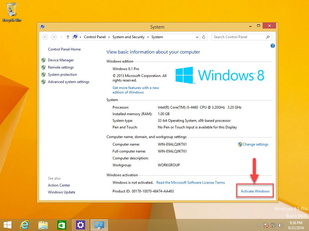 Windows 8.1 Product Key Free List 2016