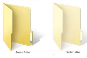 How To Hidden Folder Windows 7