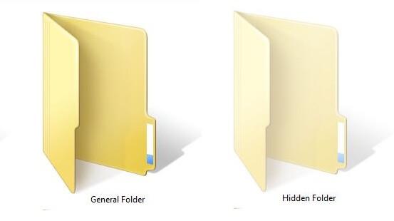 How To Hidden Folder Windows 7
