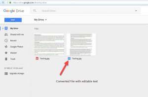 Step 5 - How To Convert Image To Text For Free Using Google Drive