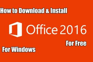 Download Microsoft Office 2016 For Windows For Free