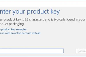microsoft office 2016 enter product key