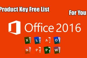 Microsoft Office 2016 Product Key Free List For You