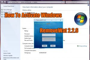 RemoveWat 2.2.6 Activator For All Windows 7-8-10 Versions Download