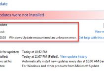 Error Code 80070103