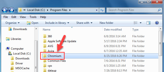 Uninstall or Remove Chromium From Windows - 3