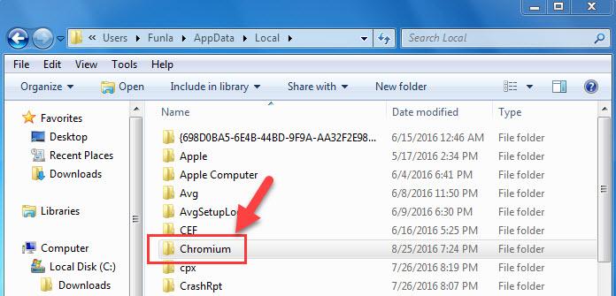 Uninstall or Remove Chromium From Windows - 4