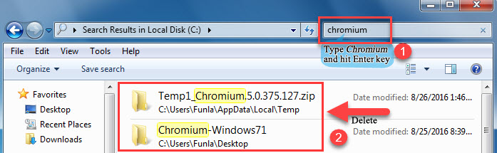 Uninstall or Remove Chromium From Windows - 5