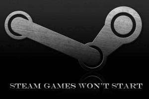 Steam Games Not Launching Problem in Windows 10