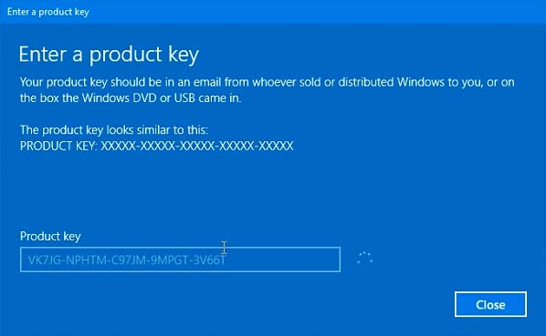 FIX: Error Code 0x803f7001 After Upgrade To Windows 10 - 3