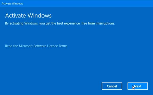FIX: Error Code 0x803f7001 After Upgrade To Windows 10 - 4