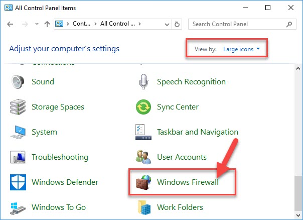 FIX: Windows Firewall Has Blocked Some Features Of This App in Windows 10 - 1