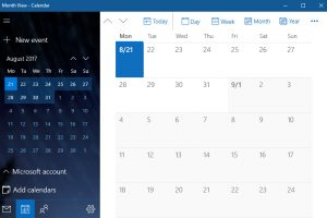 Windows 10 Calendar App Not Working
