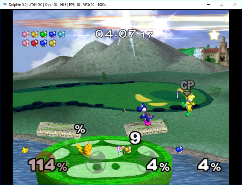 super smash bros melee dolphin emulator